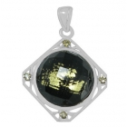 Gold Flake Pendant Np8802-GL-R